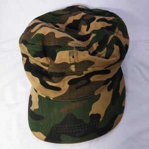 Other - cadet hat  features an outdoorsy camo
